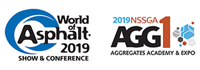 World of Asphalt 2019 & AGG1 2019 logo